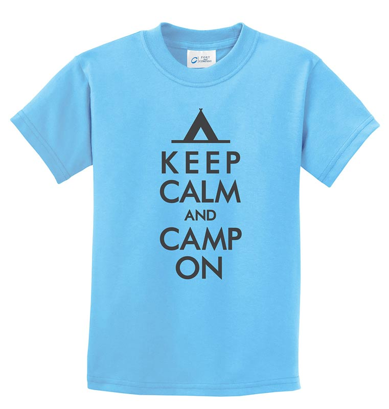 Life of Camp - Keep Calm & Camp On Tee