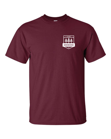 Camp Kenwood Maroon Uniform Tee