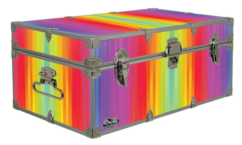 Designer Trunk - Gradient Rainbow - 32x18x13.5""