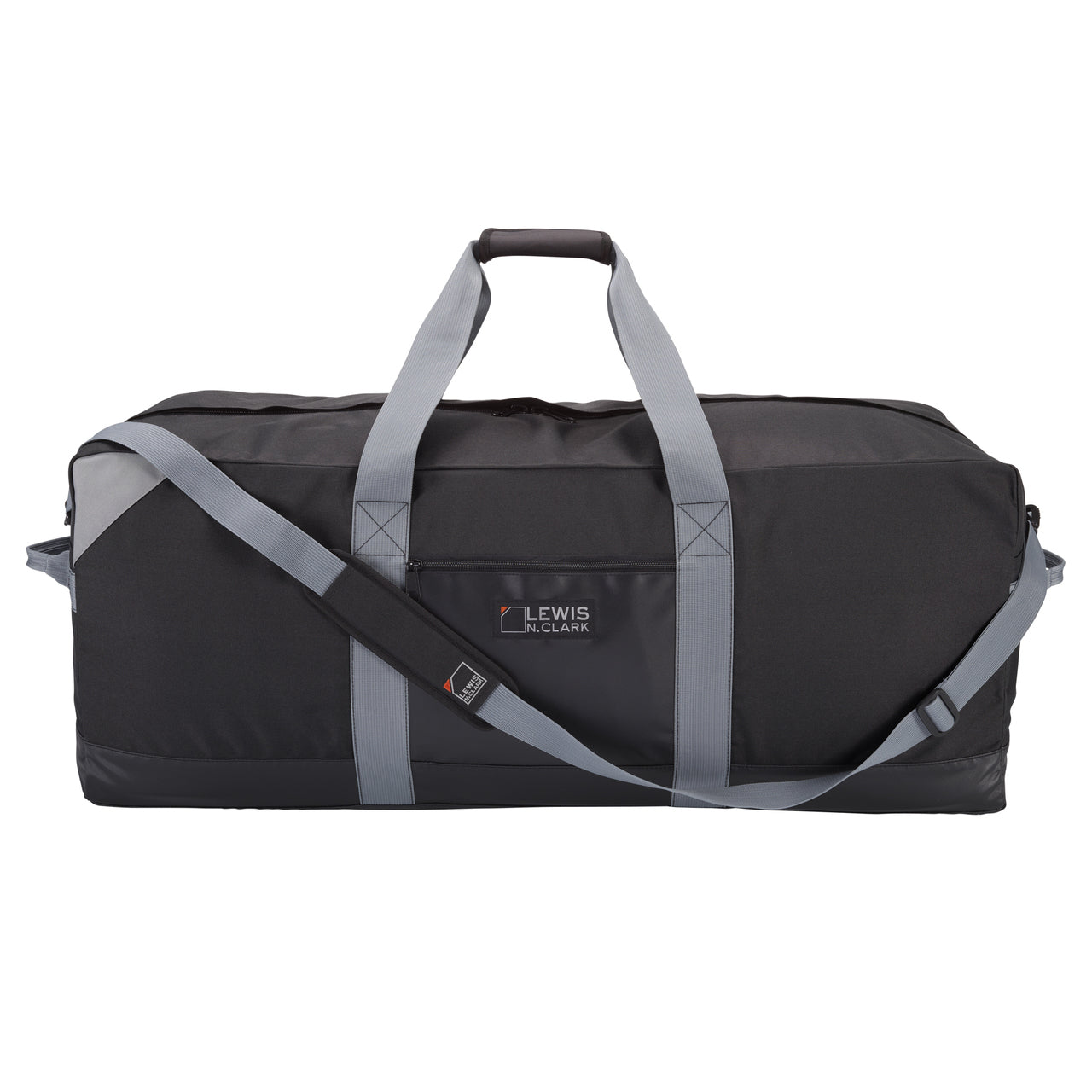 Lewis N Clark Heavy Duty 36 Inch Large Duffel with Neoprene Gear Bag