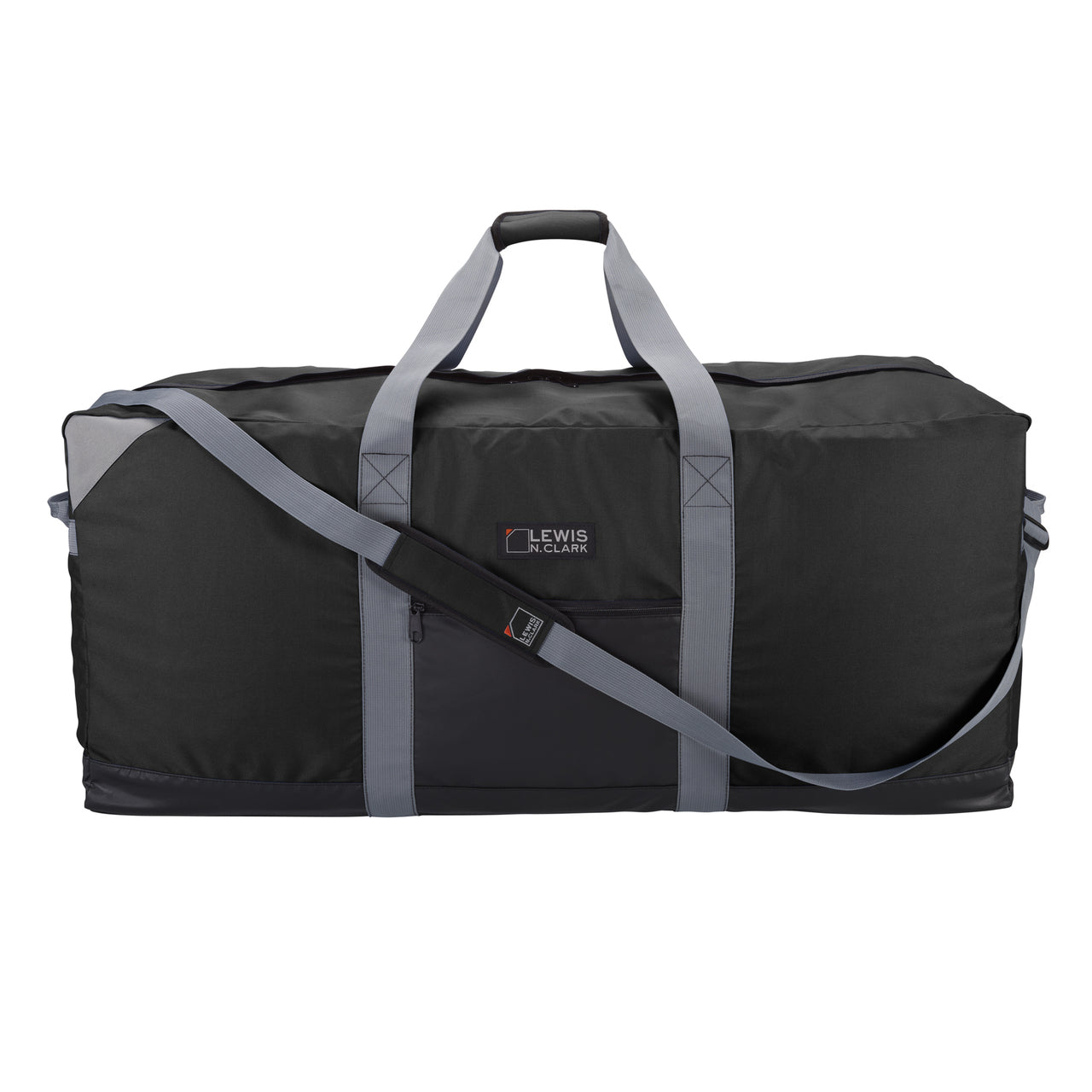 Lewis N Clark Heavy Duty 40 Inch X-Large Duffel with Neoprene Gear Bag