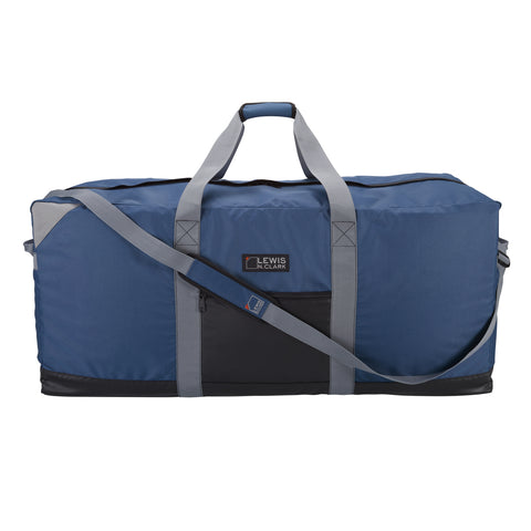 Lewis N Clark Heavy Duty 40 Inch X-Large Duffel with Neoprene Gear Bag|9040BLU