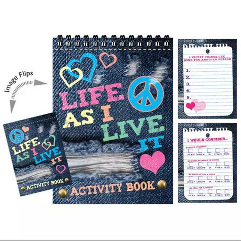 Life as I live it Activity Book