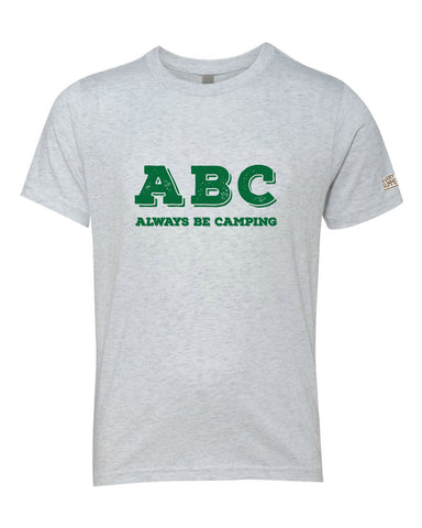 Life of Camp - ABC, Always Be Camping - Tri-Blend Tee