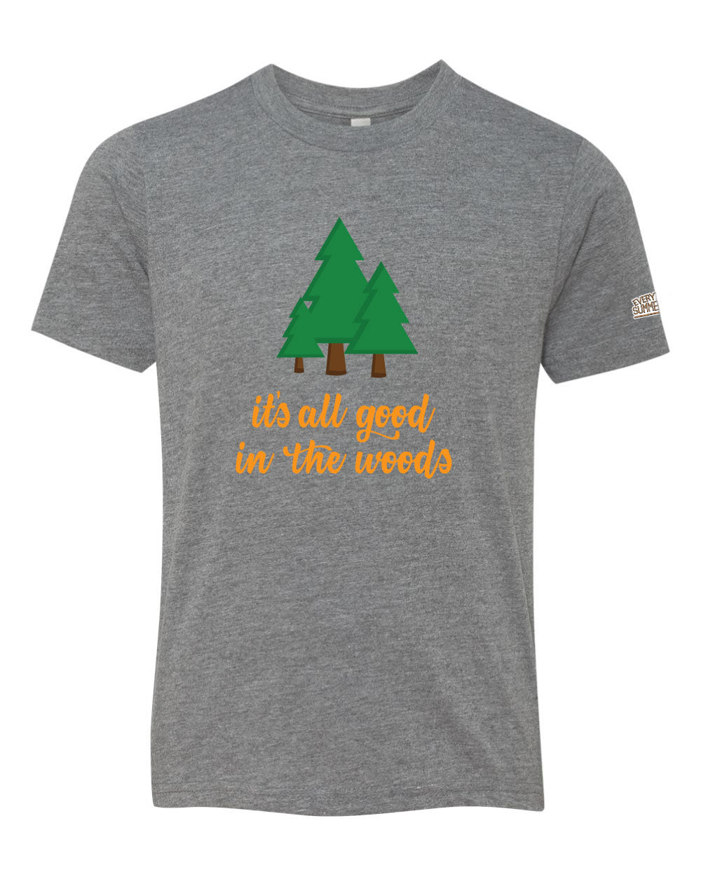 Life of Camp - It's All Good in the Woods - Tri-Blend Tee