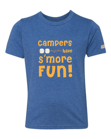 Life of Camp - Campers Have S'more Fun - Tri-Blend Tee