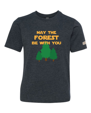 Life of Camp - May The Forest Be With You - Tri-Blend Tee