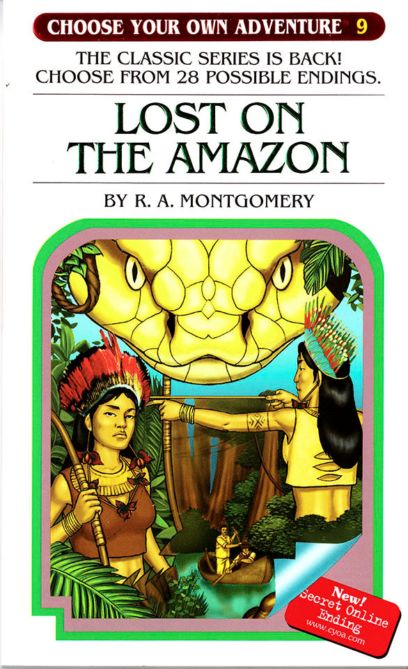 Choose Your Own Adventure-9 - Lost on the Amazon