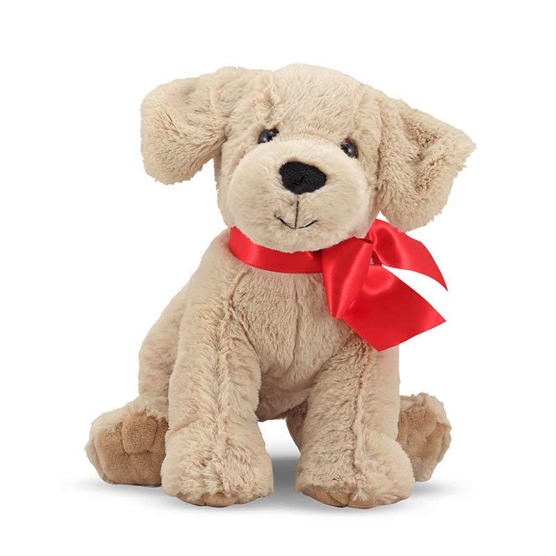M&D Plush Animal-SunnyYellowLab