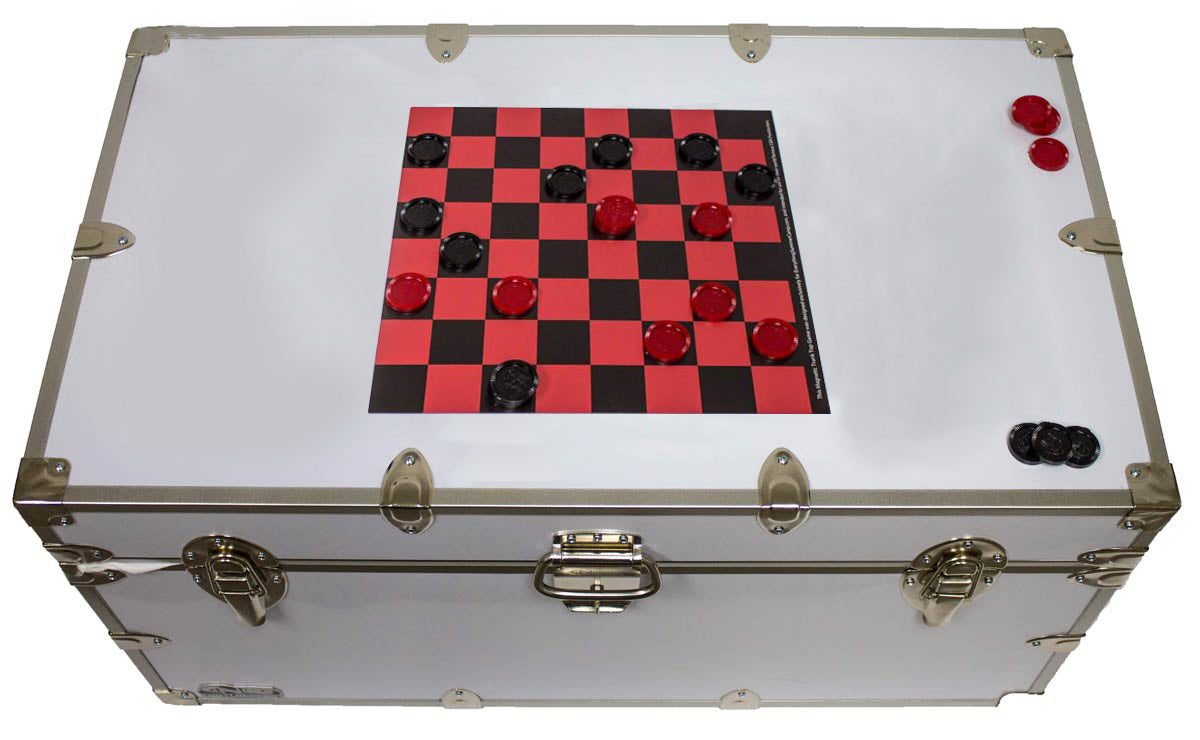Magnetic Trunk Top Games - Checkers & Chess