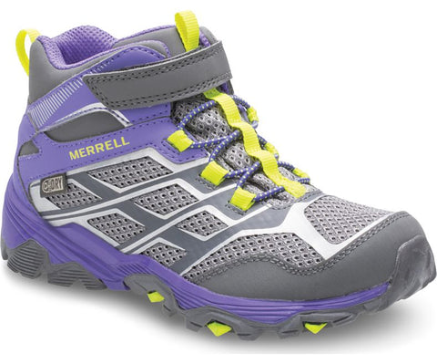 Merrell Girls Big Kids Moab FST A/C Waterproof Hiking Boot