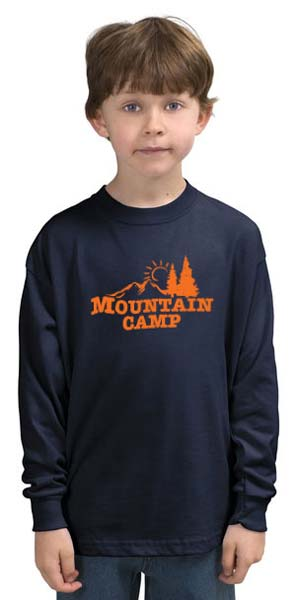 Mountain Camp Logo Long Sleeve