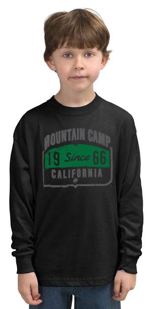 Mountain Camp Vintage Long Sleeve Tee