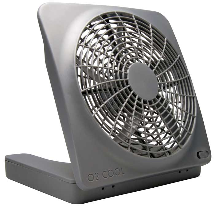 "o2 Cool 10"" Camping Fan with AC adapter"