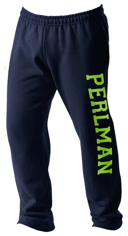 Perlman Camp Open Bottom Sweatpants|11110|11111|11112|11113|11114|11115|11116