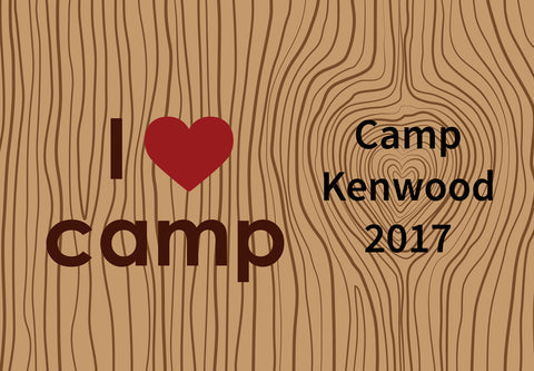 ESC Personalized Camp Floor Mat - I Love Camp|15127