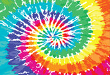 ESC Personalized Camp Floor Mat - Spiral Tie Dye