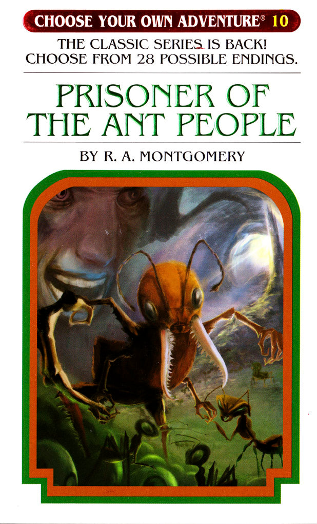 Choose Your Own Adventure-10 - Prisoner of the Ant People