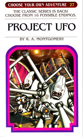 Choose Your Own Adventure-27 - Project UFO