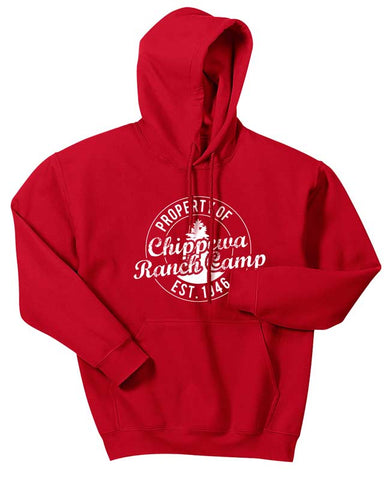 Property Of Chippewa Ranch Camp Hoodie
