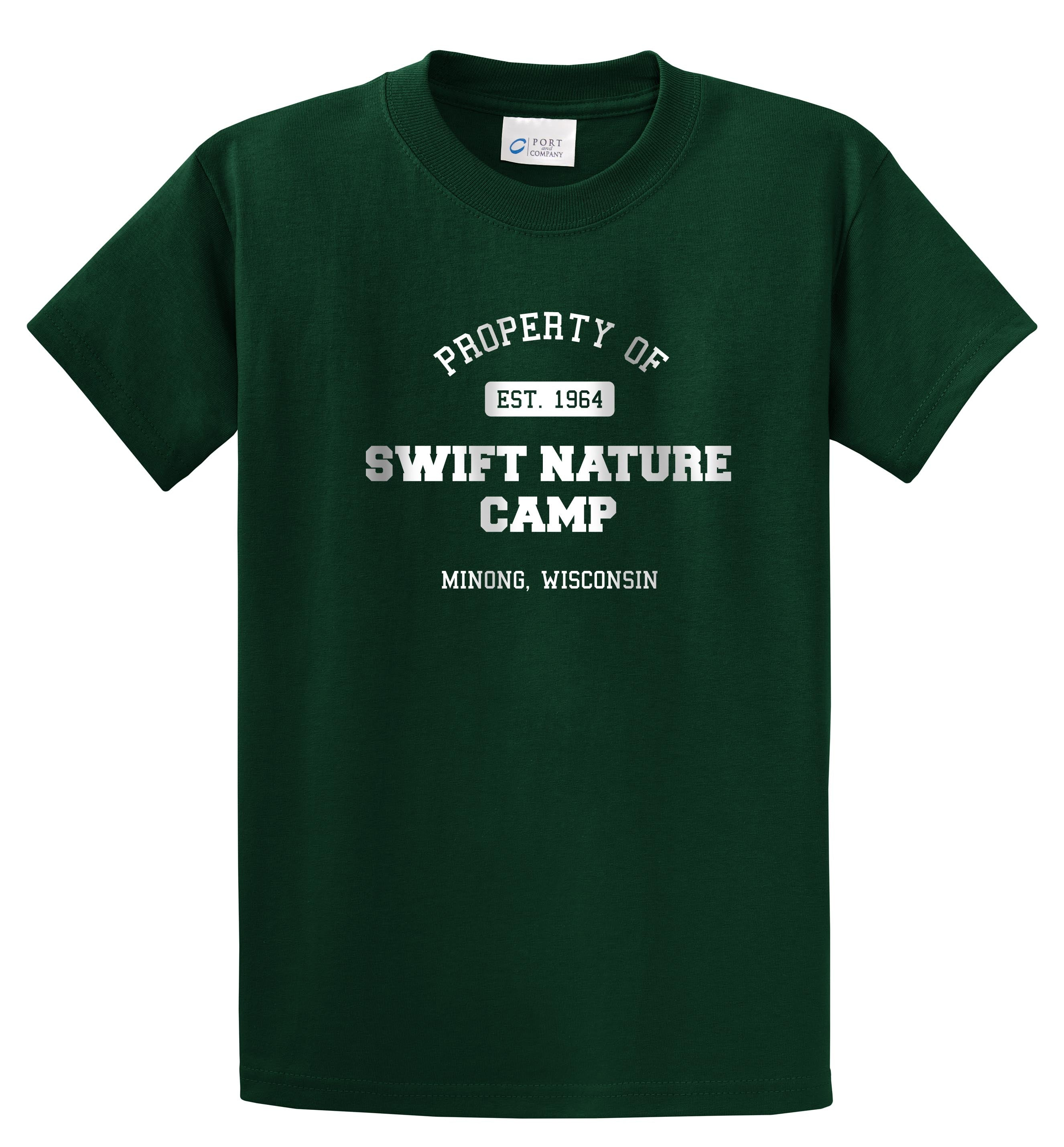 Property of Swift Nature Camp Tee