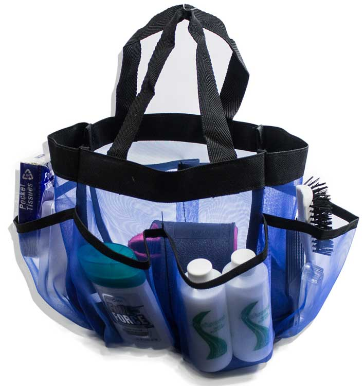 Quick Dry 7-Pocket Shower Caddy