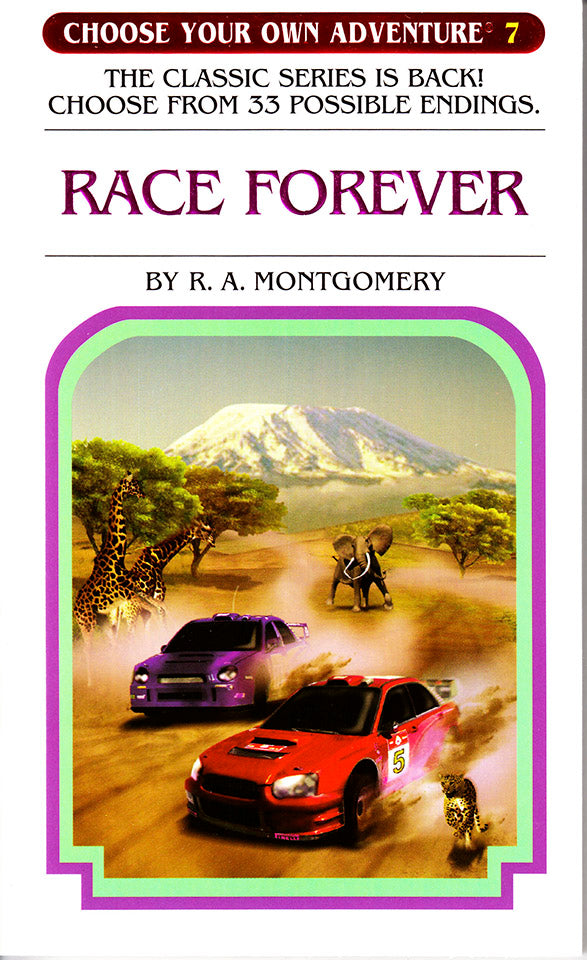 Choose Your Own Adventure-7 - Race Forever