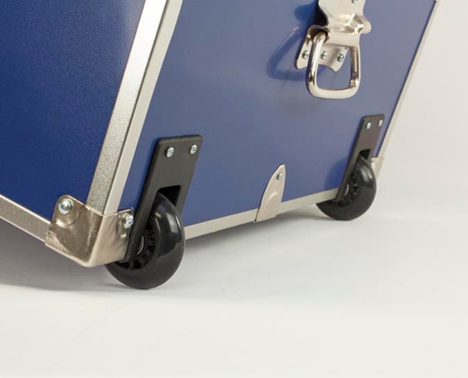 Recessed Wheels for your camp trunk
