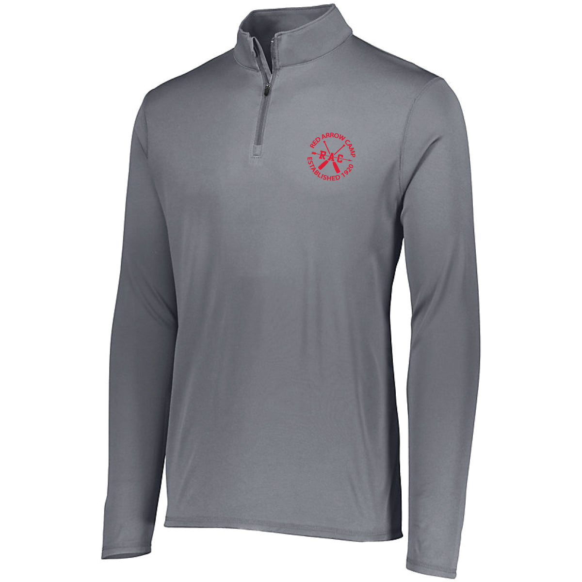 Red Arrow Camp Quarter Zip Performance Pullover
