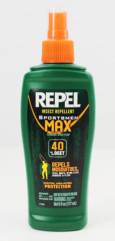 Repel Sportsmen Max 40% Deet Pump Spray Insect Repellent