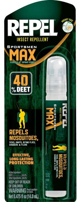 Repel Sportsmen Max Insect Repellent Pen Size Pump Spray