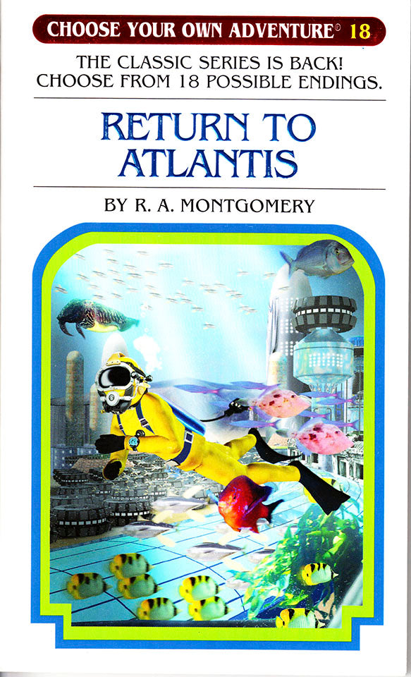 Choose Your Own Adventure-18 - Return to Atlantis