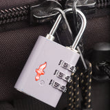 Safe Skies TSA Luggage Lock