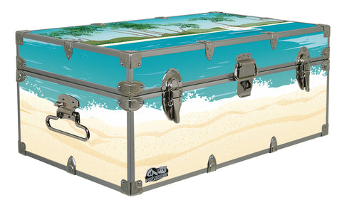 Designer Trunk - Sailin Away - 32x18x13.5""