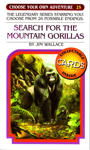 Choose Your Own Adventure-25 - Search for the Mountain Gorillas