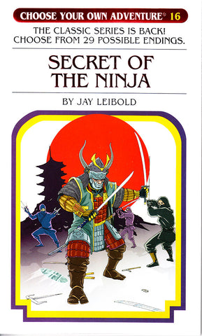 Choose Your Own Adventure-16 - Secret of the Ninja