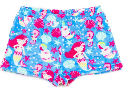Candy Pink Girls Fleece Shorts|S19410-YS|S19410-YM|S19410-YL