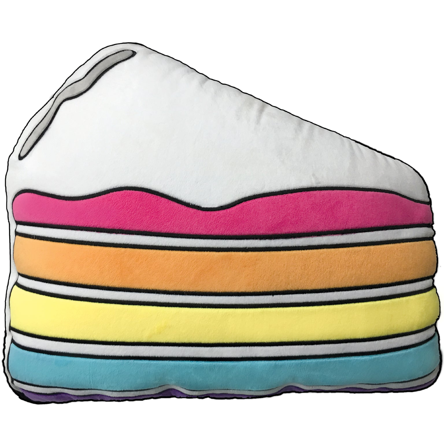 Slice of Cake Vanilla Scented Fleece Pillow