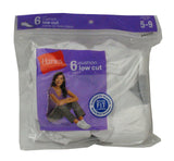 Hanes Socks-Womens Low Cut-6 pack