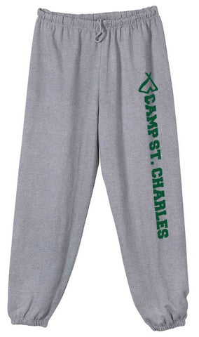 Camp St. Charles Print Sweatpants