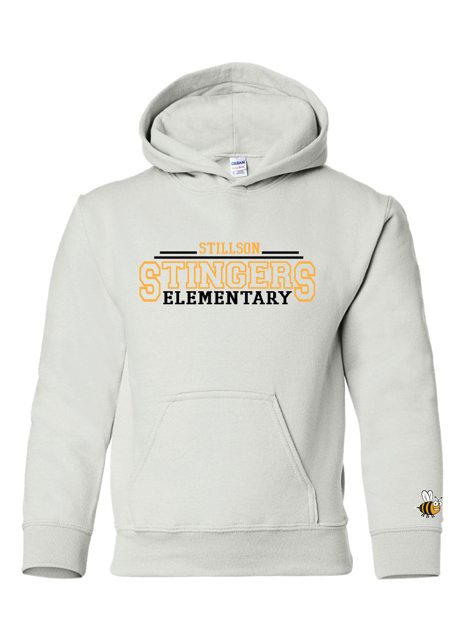 Stillson Stingers Embroidered Hoodie18500whtYS
