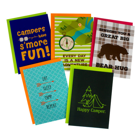 Summer Camp Greeting Cards for Boys, Girls, and Parents|15338