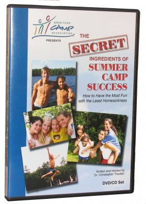 Secret Ingredients of Summer Camp Success DVD/CD
