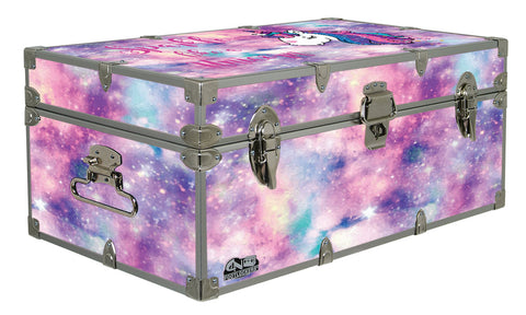 Designer Trunk - Sparkle Like a Unicorn - 32x18x13.5""