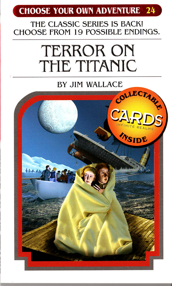Choose Your Own Adventure-24 - Terror on the Titanic