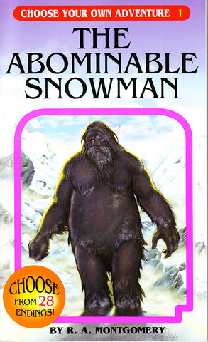Choose Your Own Adventure-1 - The Abominable Snowman