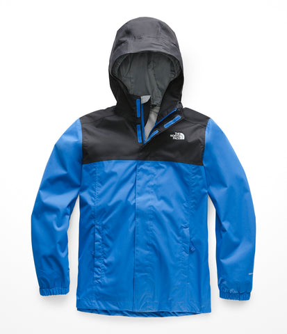 The North Face Resolve Reflective Jacket – Boys|NF0A3CR9WXN-YS|NF0A3CR9WXN-YM| NF0A3CR9WXN-YL|NF0A3CR9WXN-YXL