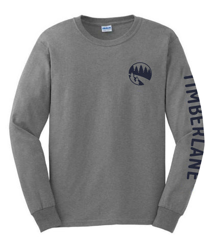Camp Timberlane NEW Logo Long Sleeve Tee