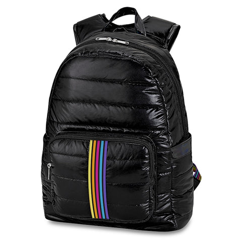 Top Trenz Puffer Backpack|BP-PUF4BL