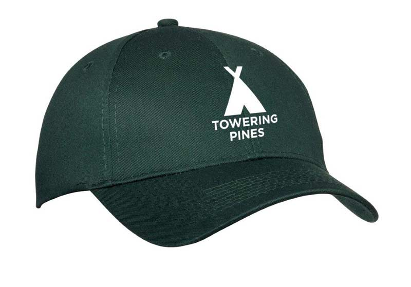Towering Pines Camp Baseball Cap